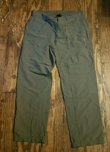 Men's north face hiking pants sz 36